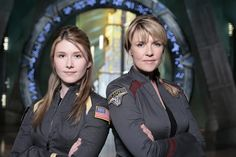 Jewel Staite & Amanda Tapping two amazing actresses, one from Firefly the other from Sanctuary, together in one show!!