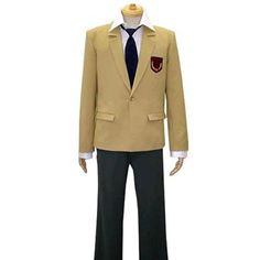 This Katekyo Hitman Reborn! Namimori High School Uniform Cosplay Costume  set is made to fit your style.