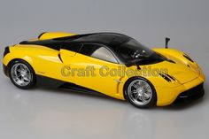 108.80$  Know more - http://ai6rs.worlditems.win/all/product.php?id=32457921525 - * Welly GTAUTOS Pagani Huayra 1/18 Yellow High Quality Version Alloy Model Car