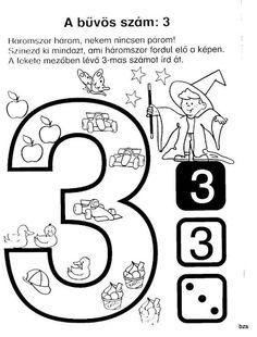 Képről képre - Játék és számok - Kiss Virág - Picasa Web Albums Alphabet Worksheets, Math Numbers, Ten Frames, Kindergarten Math, Drawing For Kids, Math Activities, Told You So, Clip Art, Classroom