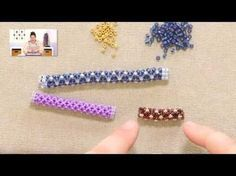 Chenille stitch how to from Jill Wiseman ~ Seed Bead Tutorials - click thru for without borders.