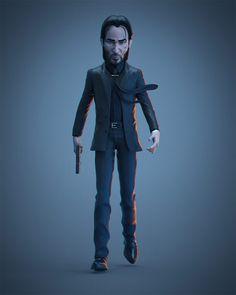 Iancarlo Reyes recria personagens da cultura pop em 3D - Geekness