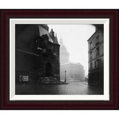 """Global Gallery Paris, 1924 - The Panthéon by Eugène Atget Framed Photographic Print Size: 16.8"""" H x 20"""" W"""