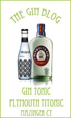 """...The Gin Blog. Y nos enseñan a preparar un """"Titonic"""" de Plymouth Navy Strength con Original Blue, gracias a Mazinger Cartagena."""