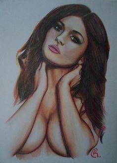 "Saatchi Art Artist Ryan Carlin; Drawing, ""crayon study"" #art"