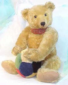 40 Cm Gold Teddy Hermann Teddy Mit Brummstimme