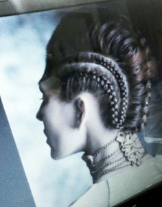 HR GIGER  Inspired hairstyle  ,quality of photo isn't great but i love this hair design