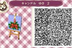 Christmas Candle - Animal Crossing New Leaf QR Code