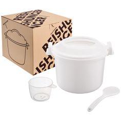 Reishunger Mikrowellen Reiskocher, 1,2l für bis zu 4 Personen