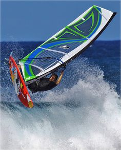Mutant - 4 battens wave sail from #MauiSails