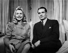 Vivien Leigh and Laurence Olivier.