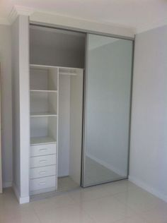 42 Trendy bedroom closet design built in wardrobe sliding doors Wardrobe Door Designs, Wardrobe Design Bedroom, Wardrobe Doors, Wardrobe Closet, Built In Wardrobe, Closet Designs, Wardrobe Ideas, Wardrobe With Mirror, Mirrored Wardrobe