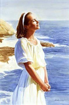 Toward the Sun - Ken Danby Woman Painting, Figure Painting, Realistic Paintings, Oil Paintings, Art Pictures, Art Pics, Photos, She's A Lady, Am Meer