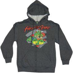 TMNT Teenage Mutant Ninja Turtles Full Zip Hoodie Mask BNWT