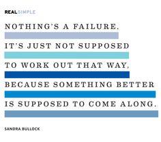 #wordsofwisdom from Sandra Bullock