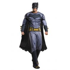 Deluxe Adult Dawn of Justice Batman Costume  #Adult #Batman #Costume #Dawn #Deluxe #Justice #KidsHalloweenCostumes Halloween Spirit
