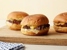 Get Hot Roast Beef Sandwiches Recipe from Food Network