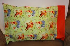 Winnie the Pooh Pillowcase.  Travel/Youth or by bubblenbee on Etsy