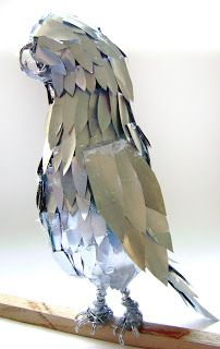 Art Education Blog: Soda Can Bird Sculpture