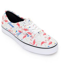 Vans Authentic Pool Vibes White Skate Shoes