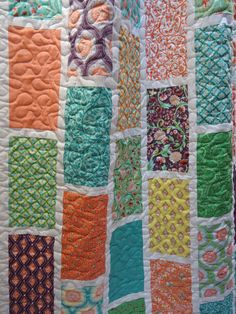 Birds and Berries Quilt Crib Size  Made to by NowandThenQuilts