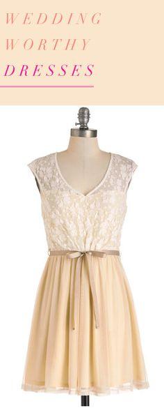 Unique Wedding Worthy Dresses