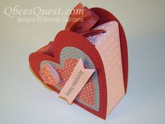 Qbee's Quest: Heart Shaped Box Tutorial