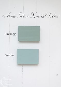 Annie Sloan's New Neutrals - Finding Silver Pennies Annie Sloan Chalk Paint in Duck Egg Blue and Sve Duck Egg Blue Annie Sloan, Duck Egg Blue Kitchen, Duck Egg Blue Chalk Paint, Annie Sloan Chalk Paint Colors, Annie Sloan Paints, Duck Egg Blue Dulux, Duck Egg Blue Bathroom, Duck Egg Blue Decor, Annie Sloan Chalk Paint Provence