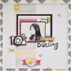 ♪ atelier B - Jina Jean: making patterns on the background
