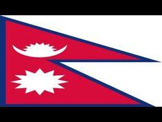 Bandera e Himno Nacional de Nepal - Flag and National Anthem of Nepal - YouTube