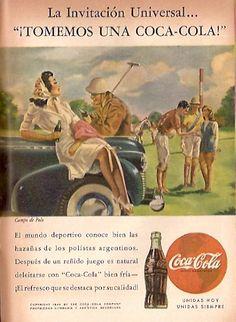 Coca Cola- Publicidad Gráfica Revista Selecciones 1944 - Argentina