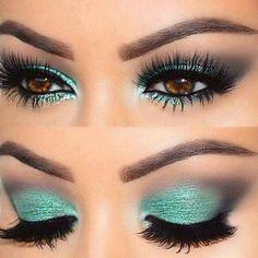Sombra verde água. ❤