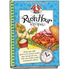 all goose berry cookbooks | Gooseberry Patch Rush Hour Recipes Cookbook | Overstock.com Shopping ...