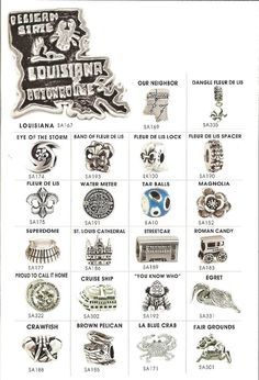 New Orleans Pandora Charms!