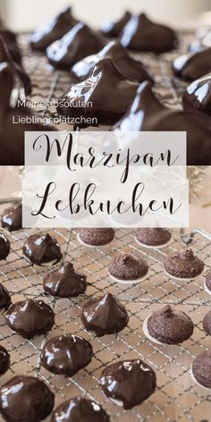 My absolute favorite cookies. Marzipan, nut and chocolate on wafers. For me there is no better recipe. Best Christmas Cookies, Vegan Christmas, Christmas Baking, Merry Christmas, Lebkuchen Cookies Recipe, Ginger Bread Cookies Recipe, Cupcakes, Baking Recipes, Cookie Recipes