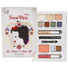 e.l.f. Disney Snow White Beauty Book Gift Set- 1 set