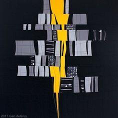 How the Light Gets In by Geri deGruy Fiber ~ 35 x 35