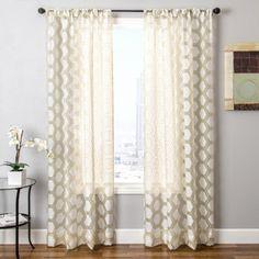 Allison Rod Pocket Curtain Panel