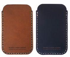 Makr iPhone Leather Sleeve