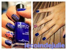 Nail art drapeau de l'Angleterre / Royaume-Uni - United Kingdom flag - Union Jack nail art - YouTube