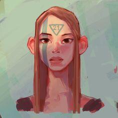 Faces on Behance by Dani Diez