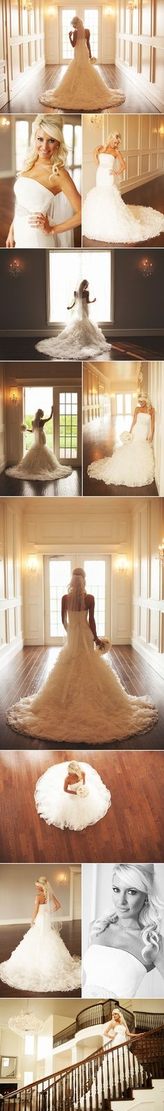 Not only is the dress amazing! But a few tips on how to pose on your big day! For more wedding inspiration check out other Veilability boards or www.veilability.com.au