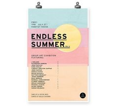 Endless Summer II in Poster