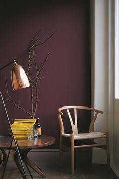 19 Ideas Bedroom Dark Brown Furniture Color Combinations For 2019 Bedroom Wall Colors, Bedroom Red, Room Paint Colors, Paint Colors For Living Room, Living Room Decor, Trendy Bedroom, Bedroom Corner, Bedroom Ideas, Dark Brown Furniture