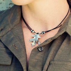 Jewelry | Necklace | Oak Leaf | Oberon Design