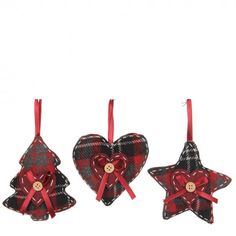 Buy Set Of 3 Christmas Tree Ornaments Online From Occa-Home