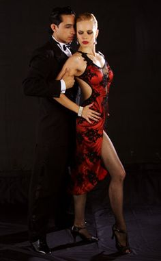 Tango Fire. PS. The best 'tango' dress I've ever seen...