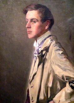 Portrait of Swedish artist Nils Dardel, 1910 by Ivan Constantin (1887-1946)