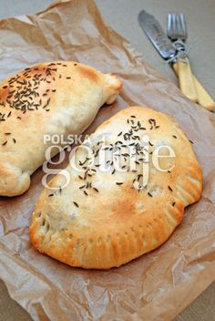 Kowalskie pierożki z ziemniakami i boczkiem Good Ol, Bagel, Rolls, Food And Drink, Pizza, Bread, Memories, Drinks, Cooking