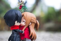 Asuna and Kirito: Under the Mistletoe | Tokyo Otaku Mode β - So much love in the air. <3 #nendoroid